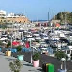 Albufeira-Hafen