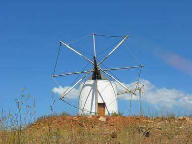 Windmuehle in der Algarve