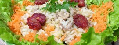 arroz de pato enten reis algarve