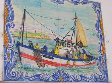 azulejo bacalhau