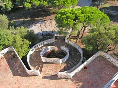 Quinta de Marim treppe