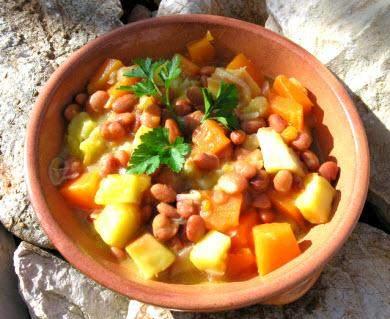 Sopa de feijão à portimonense