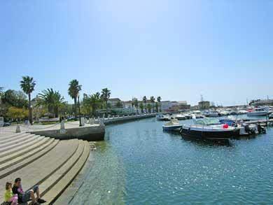Faro Algarve Hafen