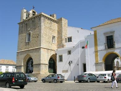 algarve mit Stadt Faro
