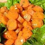 Pickled carrots a la Algarve - Conserva de cenouras à algarvia