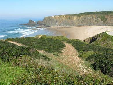 steilküste westalgerve aljezur