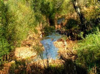 fluss algarve wandern