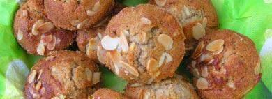 mandel muffins gebacken in algarve