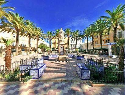 Dorfplatz Ayamonte Spanien