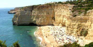 carvoeiro strand