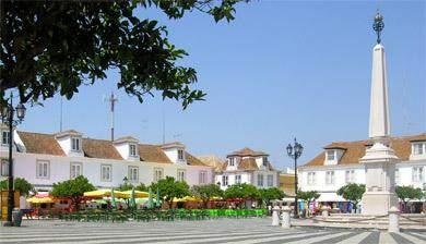 Stadt Vila Real des Santo António