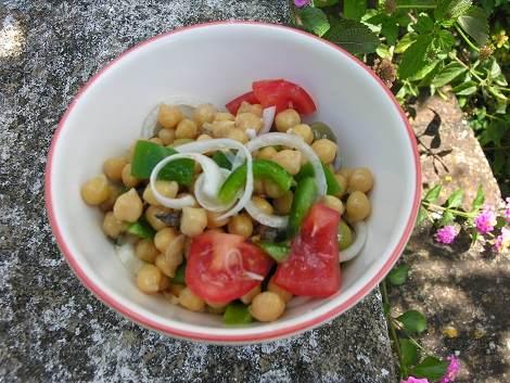 Salat-Kichererbsen (3)