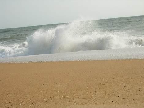 Wellenbewegung Algarve
