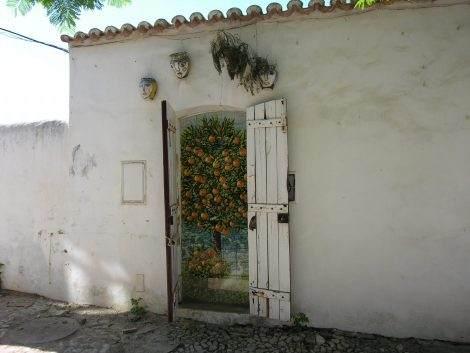 Orangen Routen Algarve