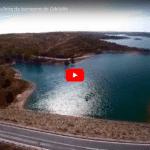 Staudamm Odeleite Wasser